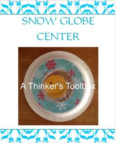 Winter Fun - Center Activities by A Thinker's Toolbox #center #craft