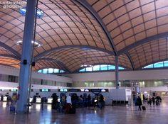 #Estructura Zona de embarque #Aeropuerto #Alicante Nueva Terminal #InfraIntel