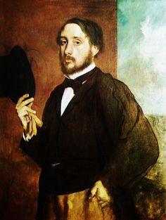 The man himself! Edgar Degas (19 July 1834 – 27 September 1917)