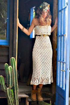 New Trend: Crochet. Dress