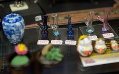 Colorado shop Norm's Dollhouse sells anything a person might need to fill their tiny world. In this state with legal marijuana, that includes mini bongs.