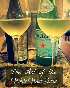 The Art of the White Wine Spritz << plus food pairings.  so so good.