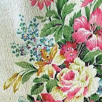 barkcloth floral - Google Search