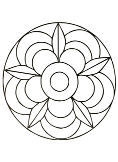 Simple Free Mandalas 02 Coloring Pages Printable And Book To Print For Find More Online Kids Adults Of
