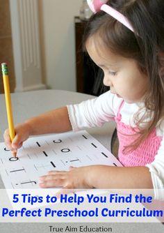 How to Find the Best Preschool Curriculum! | True Aim