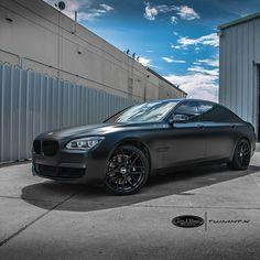 2015 BMW 750 LI Matte Black