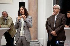 """Fotos der Eröffnung von """"IM GEGENLICHT""""  Günter Brus – Franz Graf im Dialog – 18. September 2013 im Grazer Bruseum in der Neuen Galerie Graz"""