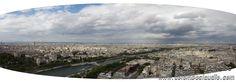La Ville Lumière vista dalla Tour Eiffel - Parigi (Fr)