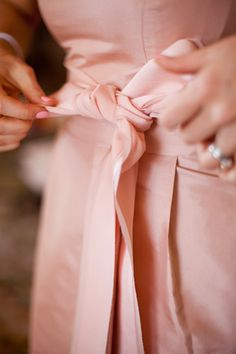 Dusky Pink/Salmon? for bridesmaids ..