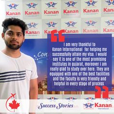 Our student Aditya Bhadauria has got his visa for #Canada, we wish him the best for the future!