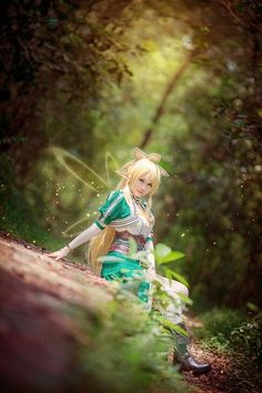 Sword Art Online: Leafa Cosplay+costume