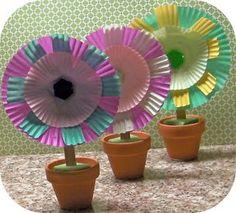 Make Messes!  Fun Flowers