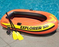 Image result for explorer raft orange