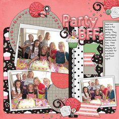 Kit:Friendship by Fit 2 Be Scrapped Template: Pack 42 by AKDesigns