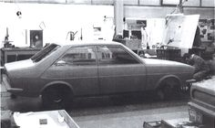 OG | 1972 Audi 80 / B1 - EA 838 | Full-size mock-up dated Nov. 1969