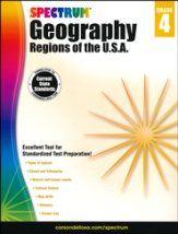 Spectrum Geography, Grade 4 (2015 Edition)