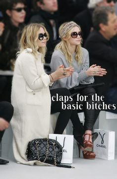 clap for the basic bitches