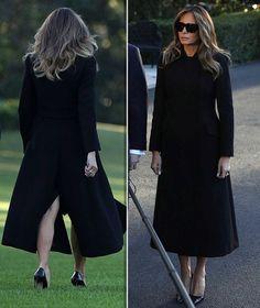 Donald Trump Family, Malania Trump, First Lady Melania Trump, Most Beautiful Women, Autumn Fashion, Normcore, How To Wear, Trump Card, Clothes