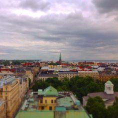 Rentoutumista Helsingin kattojen yllä. / Relaxing time over the roofs of #Helsinki