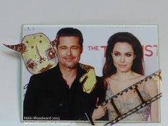 Photobomb ATC trade, in the Stampotique community :) This an ode to Brangelina. lol