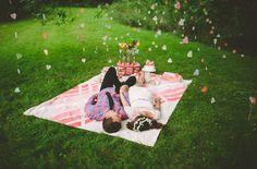Days of Summer Wedding Inspiration. Días de verano, inspiración para bodas... o para el plan de éste fin de semana