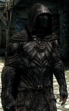 The Nightwalker armor sort of looks like this. Nightingale Armor, Superhero Series, Fantasy Armor, Reference Images, Elder Scrolls, Skyrim, Batman, Darth Vader, Cosplay