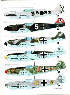 S06 Luftwaffe Colour & Markings 1935-1945 Vol. 1 Page 27-960