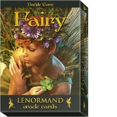 A stunning new Lenormand deck from fairy land. Every card includes traditional Lenormand imagery above spectacular fairy artwork. This 36-card deck includes an instructional guidebook for those new to
