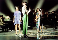 Diana Ross & The Supremes rehearsal