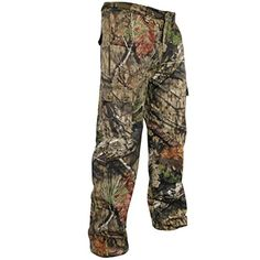 Mossy Oak Men's Camouflage Cotton Mill Hunting Pants Available In Multiple Camo Patterns  Men's Camo Cargo Hunting Pants6 Pockets: two cargo, two back, & two frontMade from soft, quiet, & durable 60/40 Cotton Polyester blend material  http://outdoorgear.mobi/product/mossy-oak-mens-camouflage-cotton-mill-hunting-pants-available-in-multiple-camo-patterns/