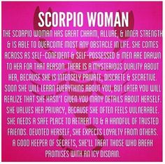 Scorpio Woman- LOVE SEX AND ROCK AND ROLL!!!! ME ON THE OUTSIDE YOU CAN'T TELL THAT I WOULD ROCK YOUR WORLD BUT INSIDE I'M AN ANIMAL, One of my favorite songs is FUCK ME LIKE AN ANIMAL BY NINE INCH NAILS, I LOVE LED ZEPPELIN, VERY SEXY MUSIC!!!!! I'm a Scorpio Woman.