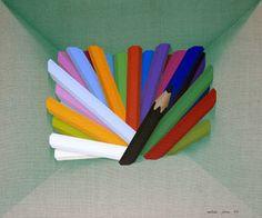"Saatchi Art Artist Adrià Pina; Painting, ""Capsa, bomba de color, 6"" #art"