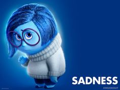 I got Sadness. Well with anxiety and depression what more could I really expect..