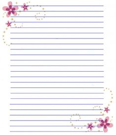 ~~pinned from site directly~~ . . . Flower Stationery Paper