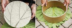 diy trittstufe rund-basteln mit naturmaterialien