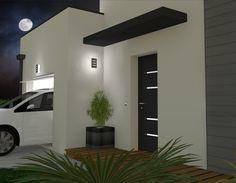 Easy And Cheap Diy Ideas: Canopy Architecture Plants window canopy sleep. Modern Entrance Door, Entrance Lighting, Modern Front Door, Entrance Doors, Entrance Ideas, Front Entry, Awning Over Door, Front Door Canopy, Window Canopy