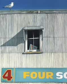 4 Square Window - by Graham Young. imagevault.co.nz