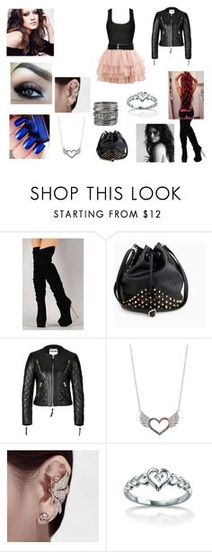 """""""Voltei!!!!"""" by artemisa-538 ❤ liked on Polyvore featuring OPI, Fahrenheit, Moschino and maurices"""
