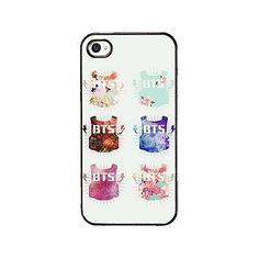 Fanstown BTS KPOP in the mood for love iphone5/5s case Dust plug charm ❤ liked on Polyvore featuring accessories, tech accessories and phone cases