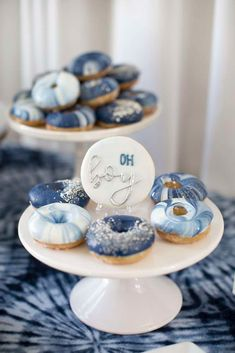 Shibori Tye Dye Baby Shower Baby Shower Party Ideas Photo 3 of 47 Catch My Party Baby Shower Photos, Boy Baby Shower Themes, Baby Shower Games, Boy Baby Showers, Baby Boy Shower Decorations, Food For Baby Shower, Boy Baby Shower Cakes, Baby Shower Ideas For Boys Themes, Fancy Baby Shower