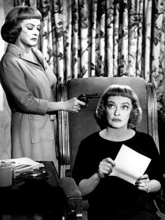 Dead Ringer, Bette Davis plays twins in this movie.