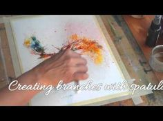 Brusho Techniques - Mixed Media with calligraphy ink Brusho Techniques, Watercolor Techniques, Painting Techniques, Sketch Painting, Figure Painting, Calligraphy Ink, Learn To Paint, Fabric Painting, Art Tutorials