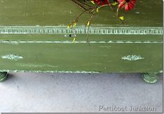 Painted A Cedar Chest Using Miss Mustard Seed's Milk Paint