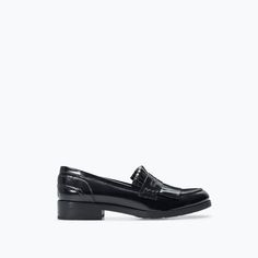 ZARA - SHOES & BAGS - FRINGED PENNY LOAFER