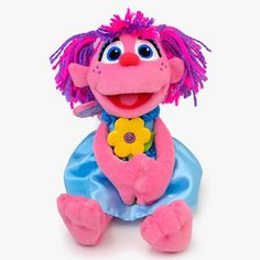 Gund Sesame Street Abby With Flower 10 inch Plush Figure - Radar Toys