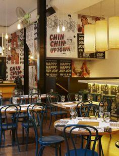 Chin Chin restaurant in Melbourne,Australia