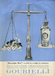 Gourielli Moonlight Mist Fragrance (1952)