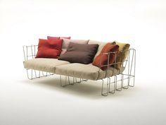 Top 10: Arik Levy's feeling for design   Hoop Sofa, Living Divani, 2009   @livingdivani