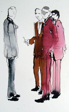 Sketch for Spark by Bridget Davies