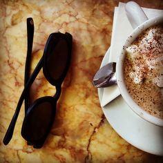 #Madrid #exploring #creative. Expanding the mind and writing. Dónde están mis gafas? #españa #cappuccino #monday #travelgram #befriendurmind #travel #photography #book #sunny #easter #focus